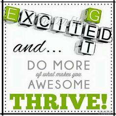 Thrive has done wonders for me! Who knew taking the right vitamins would do so much!! #letsdothis #thriver4life #joinme http://mbpellegrin.le-vel.com