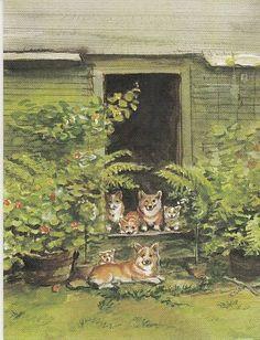Illustration by Tasha Tudor.