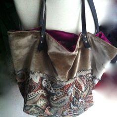 Cuore di raso, #borsa di tessuto di #tekoamilano
