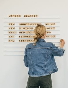 George and Willy Wooden Letter Display, Wooden Letter Display, Cafe Menu, Wooden Cafe Menu, White Rails The Menu, Interior Fit Out, Shop Interior Design, Store Design, Wooden Alphabet, Wooden Letters, Display Lettering, Vinyl Lettering, Wooden Cafe