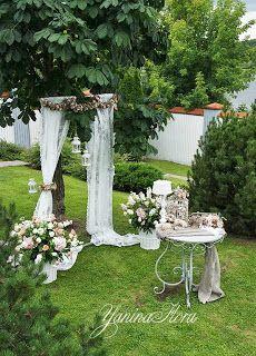 Свадьба в винтажном стиле.