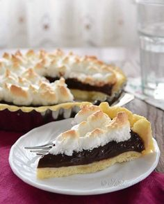 Old Fashioned Chocolate Pie recipe - just as our grandmothers used to make.