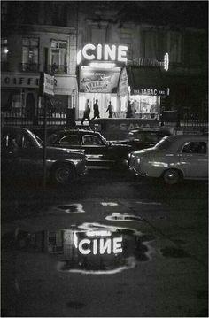 Un cinéma sur les grands boulevards (années 1950)