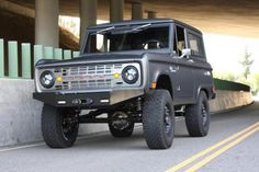 ICON Bronco, follow link for details like Fuel injected 412/390 TRQ Alloy V8...