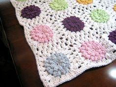 Nice crochet blanket pattern!