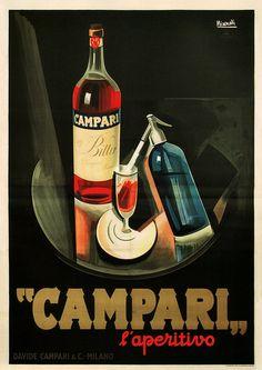 Marcello Nizzoli      Campari Ad      1926