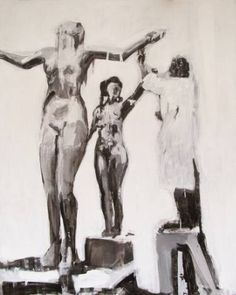 Sculptor and modell