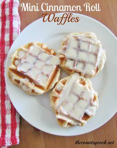 I should say, right off the bat, that this isn't really a recipe. It's more of an idea or a technique so to speak. And these aren't technically waffles in the traditional sense. They're cinnamon rolls made into the shape of waffles. So having said all that, they are scrumptious. It's a fun little twist to the usual cinnamon roll. You...Read More »