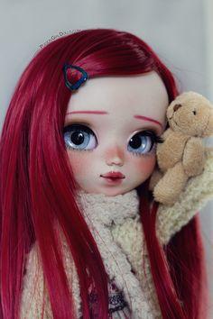 Welcome to Poison Girl's Dolls! Pullip & Blythe custom dolls for sale in my shop. Doll Drawing, Cartoon Girl Drawing, Cartoon Art, Beautiful Barbie Dolls, Pretty Dolls, Cute Disney Wallpaper, Cute Cartoon Wallpapers, Blythe Dolls, Girl Dolls
