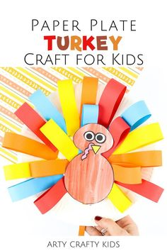 Looking for easy turkey crafts for kids to make at home or preschool? These paper plate turkey crafts for kids are cute   simple to make with our printable turkey craft template, which can be used for some of our other turkey craft activities. Get the turkey craft for kids template   more Thanksgiving turkey crafts for kids to make here! Thanksgiving Crafts for Kids Turkey | Thanksgiving Turkey Kids Craft | Turkey Crafts for Kids Printable | Thanksgiving Paper Plate Crafts for Kids #TurkeyCrafts Toilet Paper Crafts, Paper Plate Crafts For Kids, Crafts For Kids To Make, Craft Activities For Kids, Preschool Crafts, Kids Crafts, Art For Kids, Craft Ideas, Kindergarten Thanksgiving Crafts