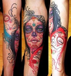 Mexican,skull,tattoo-62129b17be11631ade7ba6604476fa6f_i_large