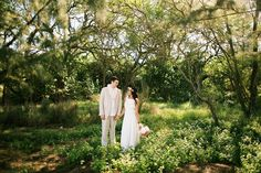Island Forest Wedding with boho details - Anna Kim Photography