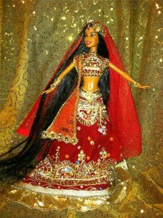 Rashmi Hindi Bride of India Elegant Dazzling Beauty Wedding ~Barbie doll OOAK