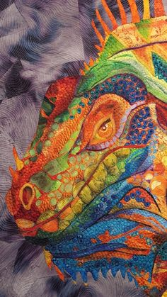 Last week we exhibited at the Canberra Craft & Quilt Fair and thank everyone for your continued support and wonderful comments you have giv. Asian Quilts, Watercolor Quilt, Landscape Art Quilts, Collage Techniques, Textile Fiber Art, Thread Painting, Contemporary Quilts, Sewing Art, Tropical