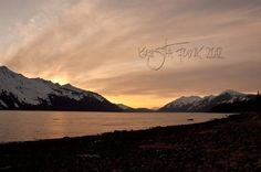 Sunset Over Cannery Bay - Haines, Alaska