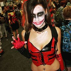 Pin for Later: The Sexiest Costume Ideas From Comic-Con Harley Quinn