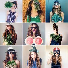 Hair Crush: Laura Miller Sidesaddle Kitchen Instagram | Dine X Design