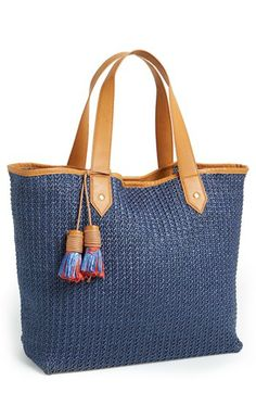 Steven by Steve Madden 'Bcabo' Straw Tote available at #Nordstrom