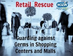 Guard against germs in shopping centres/malls