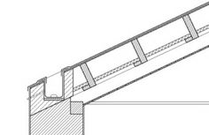 Resultado de imagem para house in leiria / aires mateus section detail Roof Architecture, Architecture Drawings, Architecture Details, Concrete Deck, Modern Roofing, Construction Drawings, Roof Detail, Architectural Section, Detailed Drawings