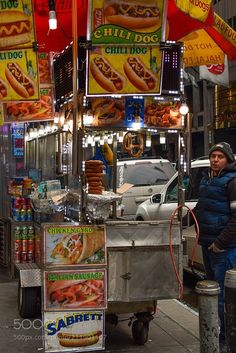 New York food cart... by fjcalabro