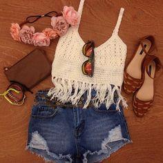 #cropped #croche