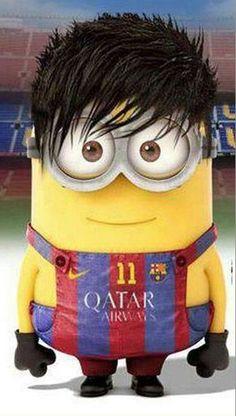 Neymar as a minion hehe