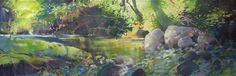 Painter's Process - Randall David Tipton: Umpqua Understory