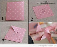 Tuto pas à pas, moulin à vent en papier pour décorer mariages