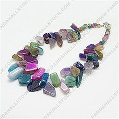 Natural Agate Nacklaces