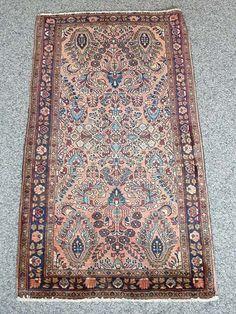 Sarough Origin: Persia Size: 125 x 65 cm - Teppich Michel