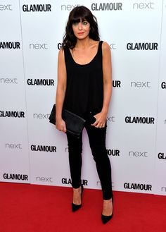 Pin for Later: Hollywood Royalty Mixed With the Brit It Crowd at the Glamour Women of the Year Awards Claudia Winkleman Claudia Winkleman Hair, Fitness Inspiration, Style Inspiration, Workout Inspiration, Beautiful Women Over 40, Celebrity Workout, Glamour, Tv Presenters, Sexy Older Women