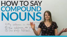 What do the words newspaper, bedroom, and blackboard have in common? They are all compound nouns. In this video, I will teach you what compound nouns are and how to pronounce them correctly. I will also be teaching you about pronunciation stress, which will help you sound more like a native speaker. After watching, take the quiz to practice everything you have learned.