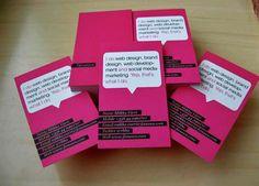 TECNOLOGIA   DISEÑO : 30 hermosos diseños tarjetas de presentacion rosa