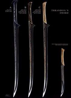 tharanduil sword - Google Search