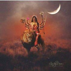 Durga, my sovereign Durga Images, Lakshmi Images, Kali Hindu, Hindu Art, Durga Puja Wallpaper, Lord Durga, Shiva Linga, Shiva Tandav, Maa Durga Image
