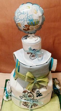#Loulis_Sweet_Surprise #diaper_cake #baby_shower