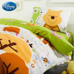 Winnie The Pooh Baby Green Luxury Disney Bedding Sets