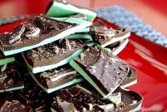 12 Days of Cookies: Grasshopper chocolate mint bark