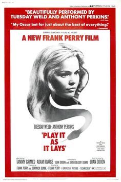 Play It As It Lays - USA (1972) Director: Frank Perry