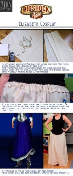Elizabeth skirt tutorial