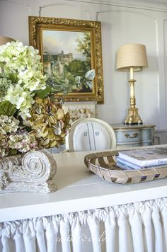 Love this! The Study Renovation | Final Reveal | Edith & Evelyn Vintage | www.edithandevelynvintage.com