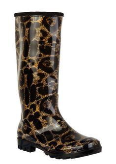 Leopard Rainboot