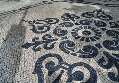 Portuguese pavement (in Portuguese, Calçada Portuguesa), is the traditional paving used in most pedestrian areas in Portugal and old Portuguese colonies such as Brazil and Macau. Being usually used in sidewalks, it is in plazas and atriums this art finds its deepest expression.