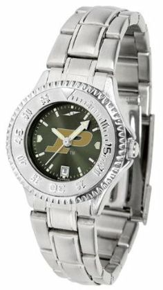 Purdue University Boilermakers Competitor Anochrome - Steel Band - Ladies - Women's College Watches by Sports Memorabilia. $87.08. Makes a Great Gift!. Purdue University Boilermakers Competitor Anochrome - Steel Band - Ladies