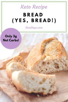 Who says you can't have bread on Keto? You totally CAN, but you have to put a little elbow grease into it. Trust me, it's totally worth it! Here's a Keto bread recipe that's bound to make your taste buds sing! Bread Recipes, Low Carb Recipes, Diet Recipes, Oat Flour Recipes, Ketogenic Recipes, Delicious Recipes, Cake Recipes, Pan Cetogénico, Pain Keto