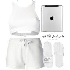 • Dimanche matin , bish • by fuckedchanel on Polyvore featuring moda, T By Alexander Wang, NIKE and River Island