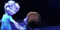 Frozen do the magic gif