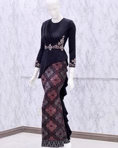 Model Dress Kebaya, Kebaya Modern Dress, Dress Brokat Modern, Dress Muslim Modern, New Dress Pattern, Kebaya Hijab, Batik Fashion, Batik Dress, Dress Shirts For Women