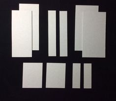 These are all the chip board pieces you will need the measurements are in the following steps.